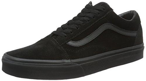 Vans Herren Ua Old Skool Sneakers, Schwarz (Suede Black/Black/Black), 42 EU, VA38G1NRI
