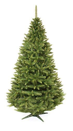 LEAN Toys Árbol de Navidad artificial de abeto natural, 220 cm