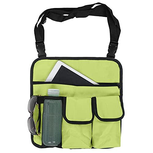 Bolsa de armazenamento, alça de ombro ajustável fácil de instalar, bolsa de apoio de braço para cadeiras de praia, cadeiras de pesca, cadeiras de escritório para atividades ao ar livre, praia, acampamento, caminhada