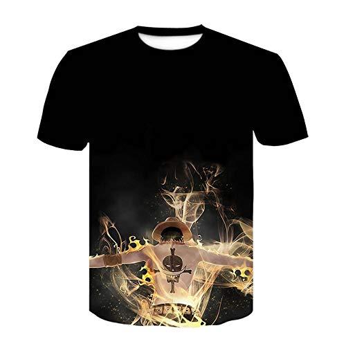 Summer 3D T-Shirt Print Animal Monkey Gorilla Short Sleeve Funny Design CasualT-Shirt Men Clothing Streetwear-Cbt-46_M
