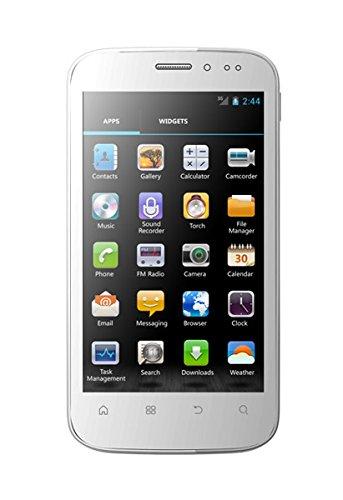 Mobistel Cynus T1 Smartphone (10,9 cm (4,3 Zoll) Touchscreen, 1GHz, 512MB RAM, 8 Megapixel Kamera, Android 4.0) weiß