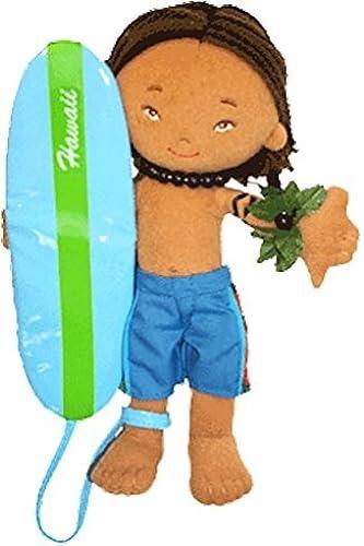 8-1 2 Hawaiian Surfer Boy Doll - Keanu by Island Friends