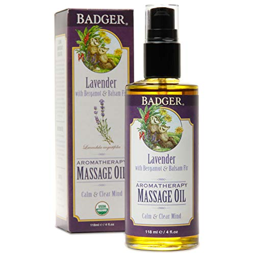 Badger Aromatherapy Oil, Lavender with Bergamot & Balsam Fir, 4 oz