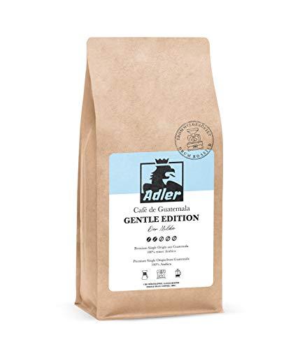 Adler Kaffee Gentle Edition- Premium Single Origin Kaffee-Bohnen aus 100% Arabica aus Guatemala - Für Siebträger und Vollautomat - 1-Kg
