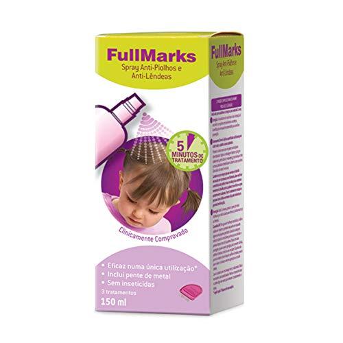 Fullmarks Spray Anti-Piojos y Anti-Liendres 150ml