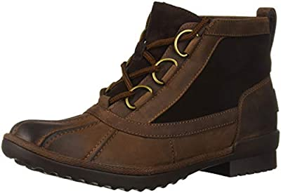 UGG Women's W Heather Boot Fashion, coconut shell, 7 M US