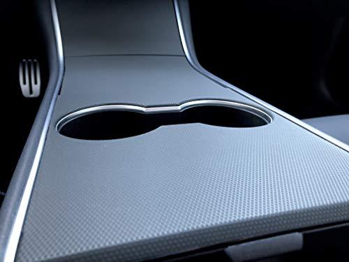 Kenriko Tesla Model 3 Matrix Black Door Handle Wrap Kit