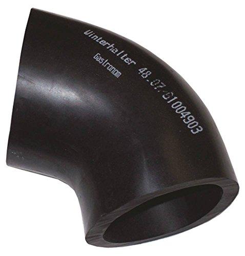 Winterhouder vormslang voor vaatwasser GS515, GS502, GS501 L-vorm buiten 78 mm binnen 62 mm slang ø 78/62 mm