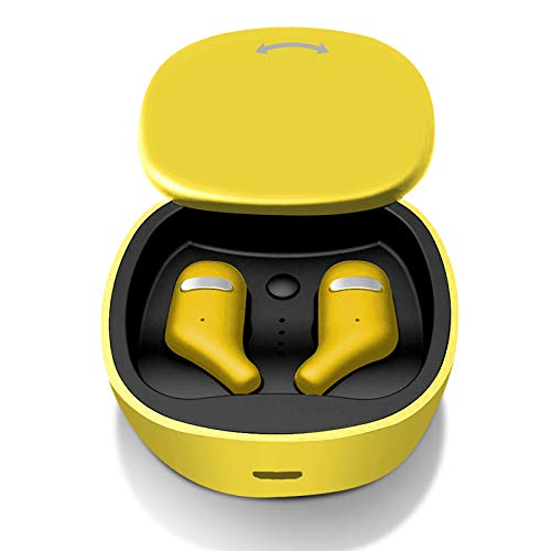 GMZGG Hoofdtelefoon Bluetooth 5.0 Draadloze Sport Oortelefoon Case Cover Bluetooth Oortelefoon Stereofonisch Hd Call Hifi Draadloze Oordoppen, Gemakkelijk te dragen En Geen Ruis