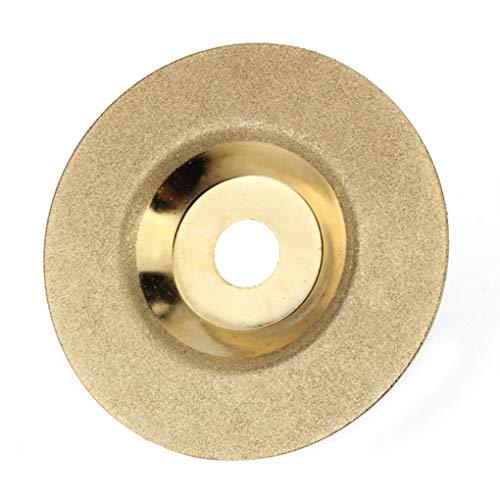 Yongse 100mm x 16mm Diamant Schleifscheibe Disc Hard Alloy Goldene Polierscheibe