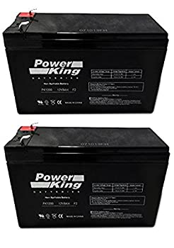 Power King PK1280 Replacement Sealed Lead Acid Batteries  2 Pack  Beiter DC Power