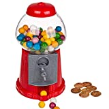 Kicko 8.5 Inch Gumball Machine - Classic Candy Dispenser - Perfect for Birthdays, Kiddie Parties, Christmas, Novelties,...