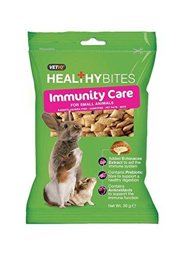 VetIQ Healthy Bites Nutri, Immunity & Odour Care Rabbits Guinea Pig Hamsters Rat (Immunity Care)