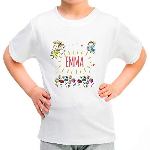 Camiseta Infantil Personalizada con Nombre/Texto. Regalos Infantiles Personalizados. Varios...