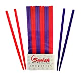 Swish Food Grade Plastic Reusable Chopsticks for Home, Restaurant, Food Joints and Kids