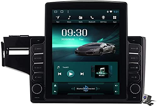 Schermo verticale di 9,7 pollici Android 9.1 Player multimediale per Honda Fit Jazz LHD RHD 2014-2020, GPS Stand Browser Auto Radio USB BT Volante, TS200