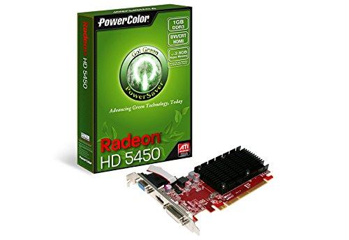 TUL AX5450 1GBK3-SHV3 Radeon HD 5450 Grafikkarte (ATI, PCI-e, 1GB, GDDR3 Speicher, DVI, HDMI, 1 GPU)