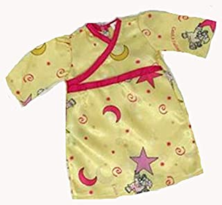 Doll Clothes Superstore Stars and Moon Nightgown Fits 18 Inch Girl Dolls Like American Girl