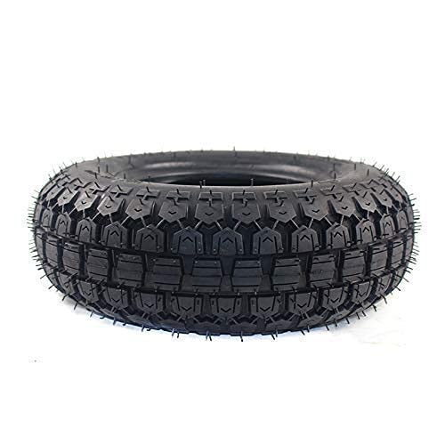 WYDM Neumáticos de amortiguación para Scooters eléctricos 4,10/3,50-6 neumático sin cámara para E Scooter cortacésped Mini Motocicleta Ruedas neumático