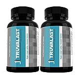 Truvalast Male Enhancement (120 Capsules) - Pills for Men - Vegan & Vegetarian Friendly - SUPPLEMENT PARADISE