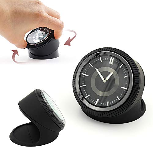 KAZALEE MALL Table Classic Car Dashboard Clock Luxury Analog Clock Home Decoration for Cars SUV and Truck