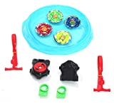 ONCEMORE Kids Metal Plastic Multicolour Stadium for Luncher Beyblade