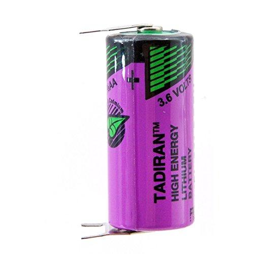 Tadiran - Batterie Lithium SL-361/PT 2/3AA 3.6V 1.6Ah 3PFR
