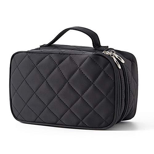 LK-HOME Cosmetische tas, reiswaterdichte cosmetische tas met spiegel, multifunctionele toiletten opbergtas, geschikt voor cosmetische opslag en reisopslag.