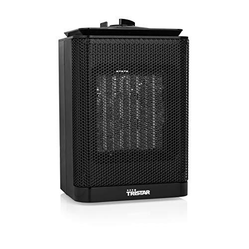 Tristar KA-5013 Calefactor eléctrico con 3 modods, 1500 W, cerámico, Negro