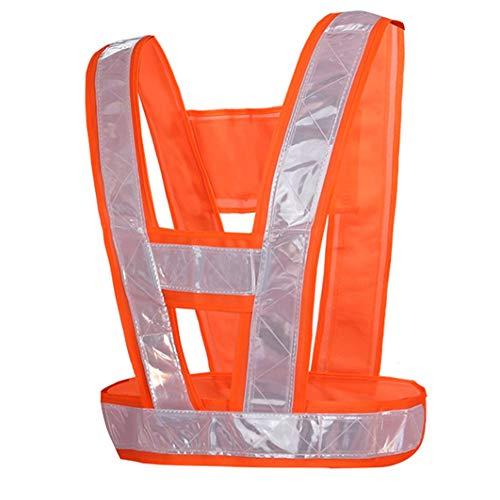 YAYA Veiligheidsvest Veiligheidskleding vest verkeer auto inspectie lopen sanitationcycling uniform nacht veiligheidsvest fluorescerend vest veiligheidsvesten