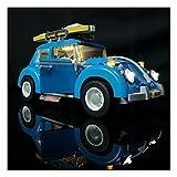 Juego de iluminación LED para Lego Creator modelo VW Beetle, juego de luces compatible con Lego 10252 y 21003 Volkswagen Beetle modelo de bloques de construcción de iluminación - sin juego Lego