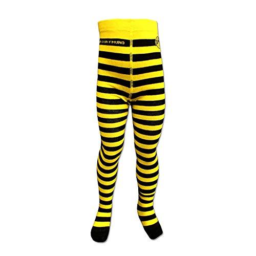 Borussia Dortmund BVB broek/panty ** zwart geel gestreept **