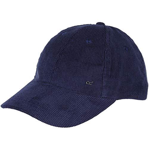 Regatta - Gorra de Pana Modelo Cadell para Hombre (One Size) (Azul Marino)