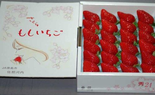 徳島県産『さくらももいちご』