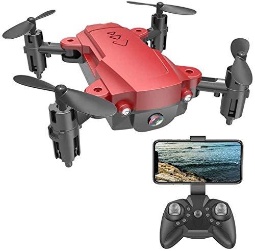 Lotees RC Drone 4K 1080P HD Cámara Drone 3D Flips Posicionamiento de Flujo óptico Plegable Cámaras Dual Dual Smart SIGE WiFi FPV Drone Remoto Modo sin Cabeza de Gran Angular para niños