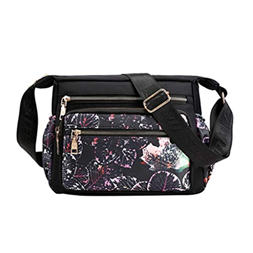 Best Price Women Crossbody Bag Printed Purses Handbags Multi Pocket Shoulder Bag
