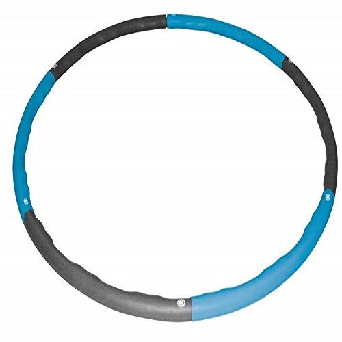 Best Sporting Hoop Fitnessreifen 100cm, 6-teilig, steckbar, blau/anthrazit