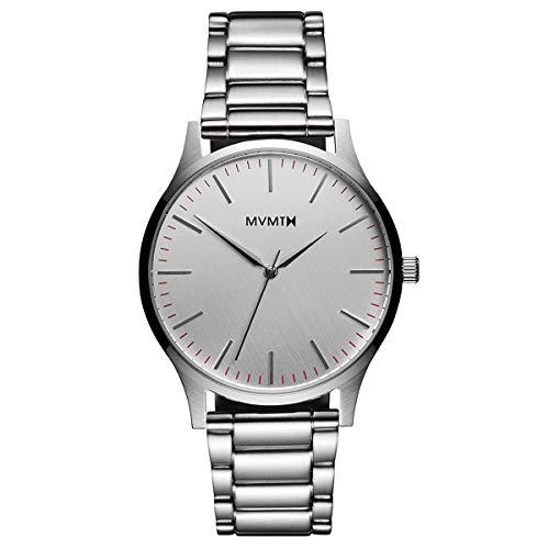 MVMT Watches 40 Series Herren Uhr Silver
