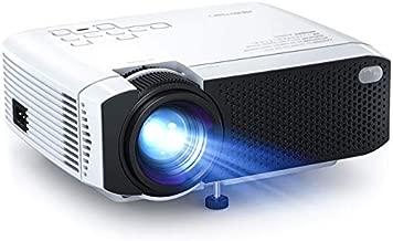 Mini Projector, APEMAN 3800L Brightness Projector, Support 1080P 180