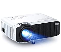 ☀【Bright Color Projector】- Bright 3800 lumens, 2000:1 contrast ratio, 70% brighter than other projectors. This mini projector adopts the latest 4.0 LCD display technology with advanced LED light sources. Also a perfect GIFT for all ages! ☀【Amazing Mo...