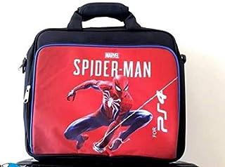 PS4 Carrying Case Bag, Portable Waterproof Nylon Hand bag, Fully Protective Printed Shoulder Bag, Travel Storage Bag for P...