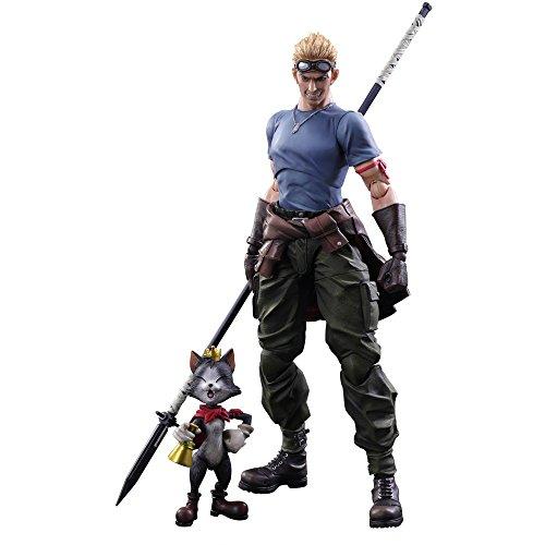 Square Enix Final Fantasy 7 Cid Highwind & Cait Sith P.a.k. Action Figure