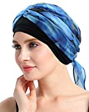 FocusCare Cancer Headwear Scarves for Chemo Women Fitted Bandana Hair Loss Headwrap Cap