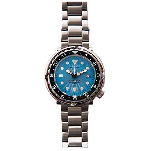 腕時計 メンズ, 自動巻き 時計 ダイビング PROXIMA Tuna ダイバー 自動 機械式 ブランド スポーツ ルミナス 300m 防水 ダイブ 高級 時計 C3 超明るい発光 ス テンレススチール サファイア時計ミラー (腕時計 メンズ 2)
