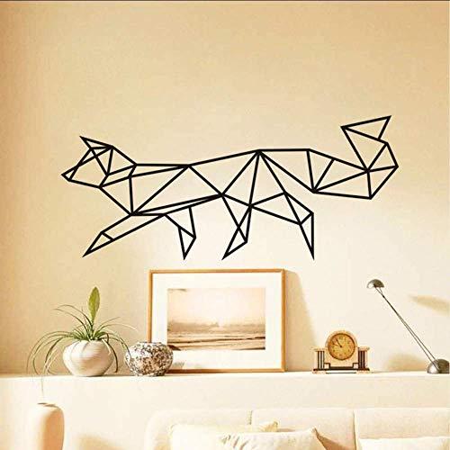 Nieuwe Ontwerp Draak Silhouette Dieren Muurstickers Verwijderbare PVC Muursticker Zelfklevende Behang Home Decor voor Woonkamer58X103Cm
