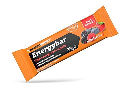 Named Energybar Wild Berries Frutti di Bosco Box 12 Barrette da 35g
