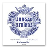 Jargar Juego de cuerdas para violonchelo, tamaño 4/4, mediano