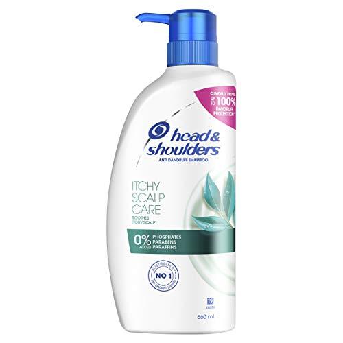 Head Shoulders Itchy Scalp Care Anti Dandruff Shampoo with Eucalyptus Extract 600mL