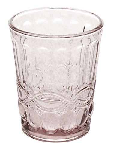 6er Set Wasserglas SOLANGE, rose, 265 ml, mundgeblasen von TOGNANA