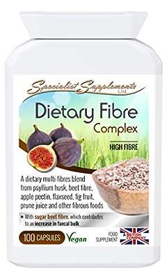 Specialist Supplements Dietary Fibre Complex 100 Capsules